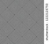 black square line pattern... | Shutterstock .eps vector #1222123753