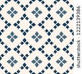 vector geometric seamless...   Shutterstock .eps vector #1222139386