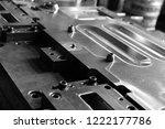 sheet metal stamping tool die... | Shutterstock . vector #1222177786