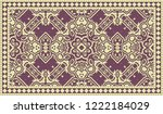 closeup of colorful... | Shutterstock . vector #1222184029
