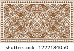 closeup of colorful... | Shutterstock . vector #1222184050
