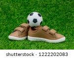 concept encourage children to... | Shutterstock . vector #1222202083
