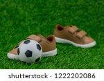 concept encourage children to... | Shutterstock . vector #1222202086