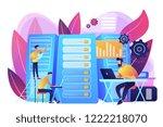 data scientist  data analytics... | Shutterstock .eps vector #1222218070