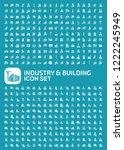 industrial and factory vector...   Shutterstock .eps vector #1222245949