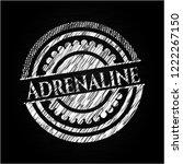 adrenaline on chalkboard   Shutterstock .eps vector #1222267150