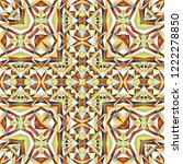 geometric seamless pattern ...   Shutterstock .eps vector #1222278850
