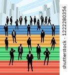 vector illustration of business ... | Shutterstock .eps vector #1222280356
