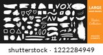 vector collection of  ink ... | Shutterstock .eps vector #1222284949