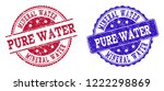 grunge mineral water pure water ... | Shutterstock .eps vector #1222298869