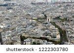 triumphal arch in paris france... | Shutterstock . vector #1222303780