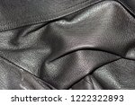 an old jacket made of genuine... | Shutterstock . vector #1222322893