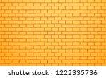 yellow brick wall vector... | Shutterstock .eps vector #1222335736