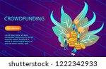 isometric illustration of a...   Shutterstock .eps vector #1222342933