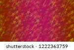 an abstract pattern of flying... | Shutterstock .eps vector #1222363759