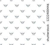wing pattern vector seamless... | Shutterstock .eps vector #1222400446