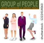 company people business work ... | Shutterstock .eps vector #1222414063