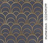 seamless geometric pattern on... | Shutterstock . vector #1222434199