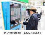 seoul  south korea   oct  21 ... | Shutterstock . vector #1222436656