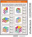 math skills and iq training...   Shutterstock .eps vector #1222451530