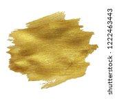 golden blot banner | Shutterstock . vector #1222463443
