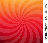 sunburst red poster  | Shutterstock . vector #1222463449