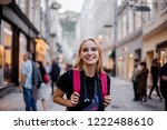 people on travel  photos on...   Shutterstock . vector #1222488610