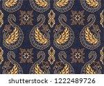 batik indonesian  is a... | Shutterstock .eps vector #1222489726