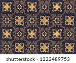 batik indonesian  is a... | Shutterstock .eps vector #1222489753