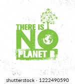 there is no planet b. save... | Shutterstock .eps vector #1222490590