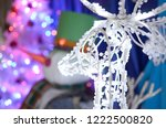 white deer in the form of a...   Shutterstock . vector #1222500820