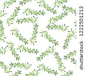 seamless pattern with fresh... | Shutterstock . vector #1222501213