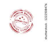 asparagus premium quality... | Shutterstock .eps vector #1222508476