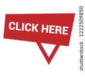 click here sign label. click...   Shutterstock .eps vector #1222509850