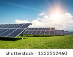 solar panel  photovoltaic ... | Shutterstock . vector #1222512460