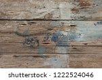 old rough horizontal wooden...   Shutterstock . vector #1222524046