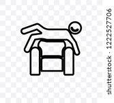 satisfied human vector linear...   Shutterstock .eps vector #1222527706