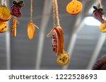 christmas decorations ...   Shutterstock . vector #1222528693