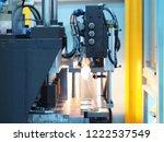 industrial plastic bottle...   Shutterstock . vector #1222537549
