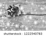 black and white. christmas.... | Shutterstock . vector #1222540783
