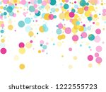 memphis round confetti vintage...