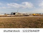 construction site in the meadow ...   Shutterstock . vector #1222564609