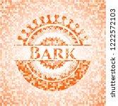 bark abstract orange mosaic... | Shutterstock .eps vector #1222572103