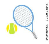 tennis sport icon   play tennis ... | Shutterstock .eps vector #1222575046