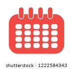 calendar icon vector isolated...