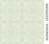 vector light green decorative...   Shutterstock .eps vector #1222592206