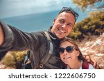 father and daughter making...   Shutterstock . vector #1222606750