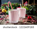 christmas sweet cold drink ... | Shutterstock . vector #1222609183