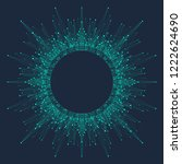 artificial intelligence logo.... | Shutterstock .eps vector #1222624690