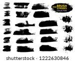large set different grunge... | Shutterstock .eps vector #1222630846